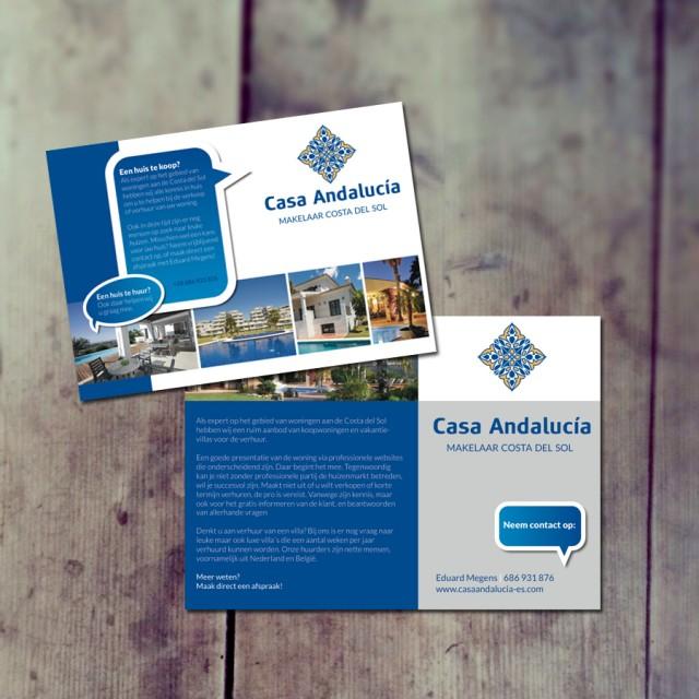 Flyer ontwerp Casa Andalucia