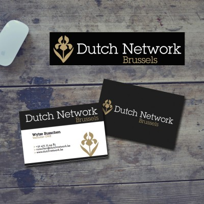 Logo ontwerp Dutch Network Brussels