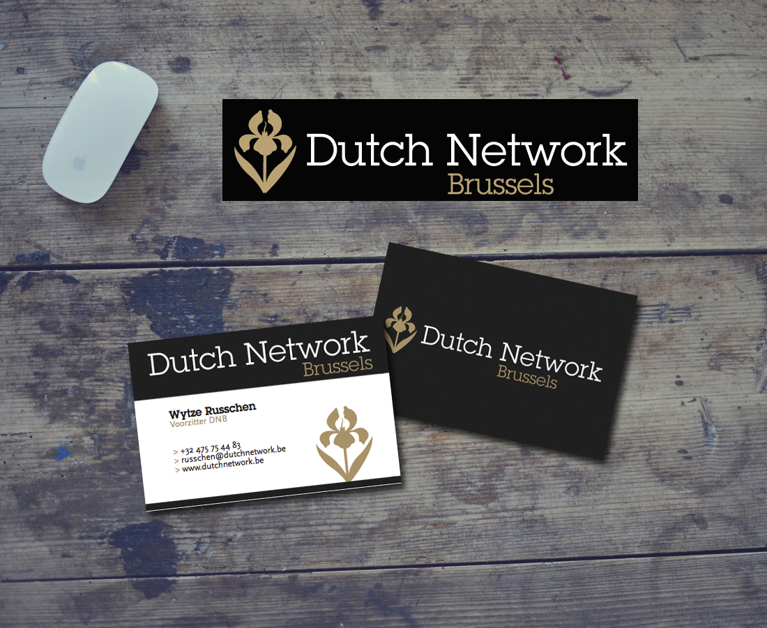 Logo ontwerp Dutch Network Brussels