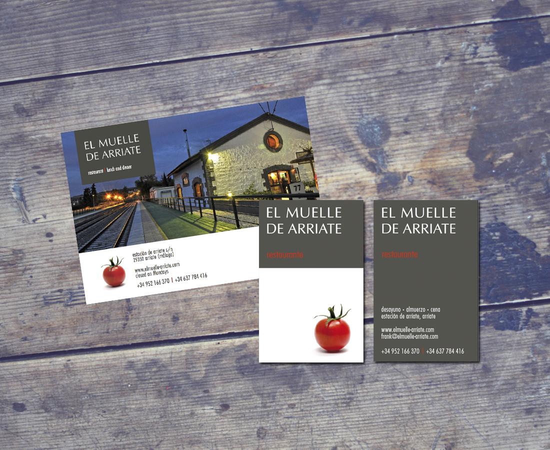 Splez Design: logo & huisstijl El Muelle de Arriate