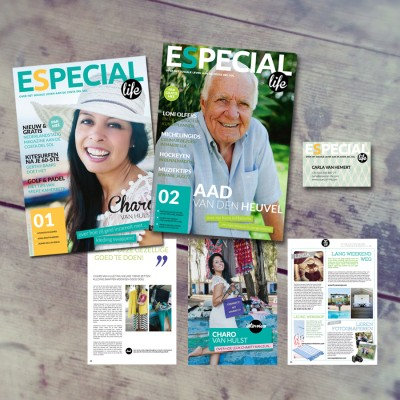 ontwerp magazine ESpecial Life