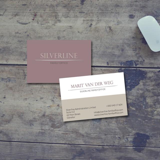 Splez design: logo en visitekaartje Silverline