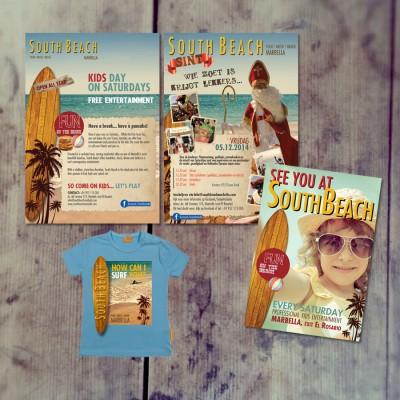 Splez verzorgt campagnes en flyers voor South Beach Marbella