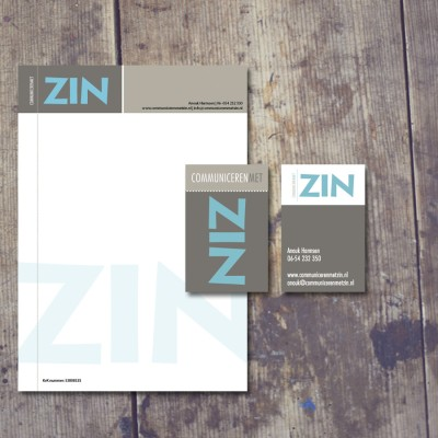 Splez: logo ontwerp voor ZIN