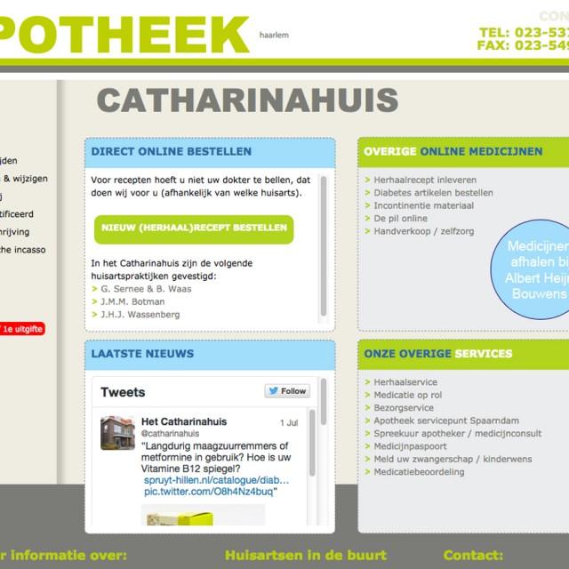 Splez webdesign: Apteek Het Catharinahuis