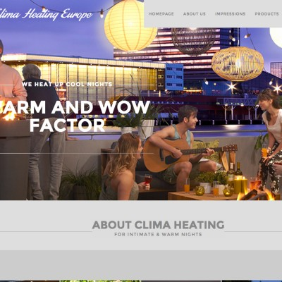 Splez Webdesign: Clime Heating