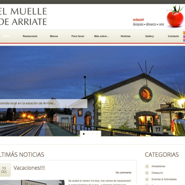 Splez webdesign: El Muelle de Arriate