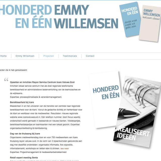 Splez webdesign: project Honderdeneen