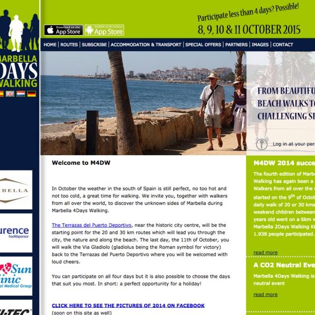 Splez Webdesign: Marbella 4 Days Walking