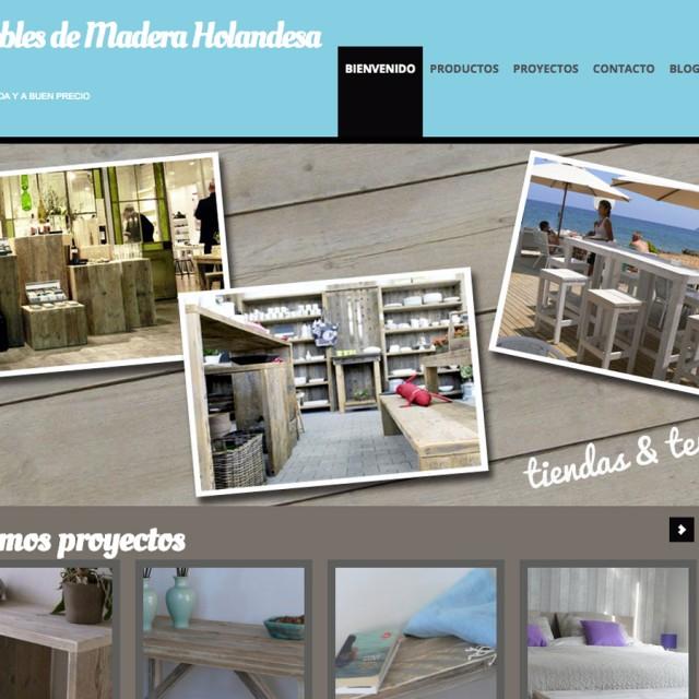 Splez Webdesign - Muebles de madera Reciclada