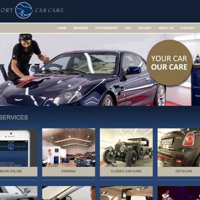 Splez Webdesign: Comfort Car Care