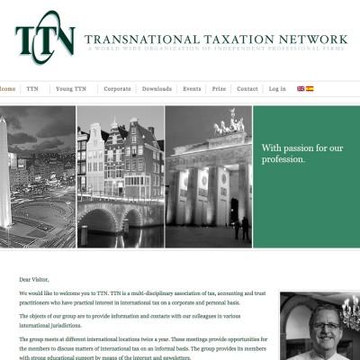 Splez Webdesign: TTN Taxation Network